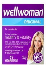 4X Vitabiotics Wellwoman Multi suplementos vitamínicos 30 comprimidos Original ***