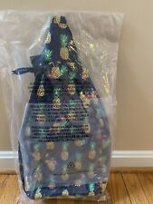 Vera Bradley Pineapple🍍Toucan Party Quilted Sling Backpack Bag NWT