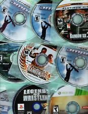 Xbox, Xbox 360, PS2, PS3 Game Disc Only - Pick your Title - See Description