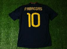 SPAIN TEAM # 10 FABREGAS 2010/2011 FOOTBALL SHIRT JERSEY AWAY ADIDAS ORIGINAL