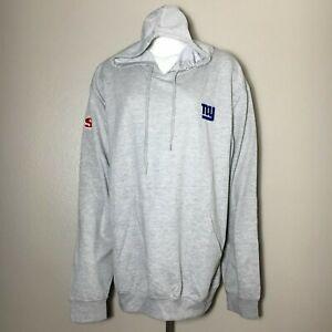 DunBrooke SI Hoodie Sweatshirt Men's NFL New York Giants Lightweight XL New