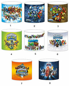 Skylanders Lampshade Ideal To Match Bedding Duvets Curtains Cushion Covers