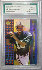 Peyton Manning 2000 CE T3 Preview Indianapolis Colts Broncos Graded Gem Mint 10