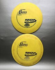 Innova Boss R-Pro Set Of 2, 1108 Distance Record, Used With Rim Ink, 161g 162g
