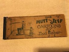 1911 Book 2, Mutt And Jeff Cartoons Book By Bud Fisher