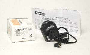 Tested Mint Quantum QFlash QTTL Adapter D23w-R for Canon D23WR D-23w-R w box