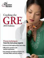 Cracking the GRE, 2010 Edition (Graduate School Test Preparation), Princeton Rev