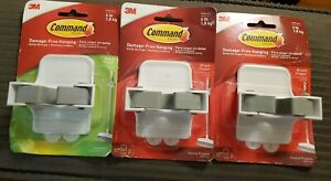 (3) Command Damage-Free Hanging Broom Gripper (Holds up to 4lbs)
