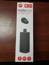 Motorola Moto Hint Black Clip Headsets for Mobile