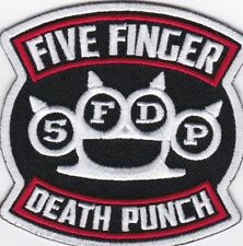 FIVE FINGER DEATH PUNCH - LOGO - IRON or SEW-ON PATCH