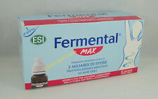 ESI FERMENTAL MAX 12 mini drink monodose fermenti intestino stitichezza diarrea