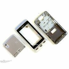 100% Genuine LG KP501 front rear side housing + digitizer touch screen Silver