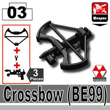 Crossbow BE99 (W49) Zombie Killer compatible with toy brick minifigures