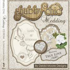 1 x Debbi Moore Designs Shabby Chic Wedding CD Rom (295842)