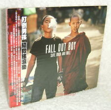 Fall Out Boy Save Rock And Roll Taiwan CD w/OBI (digipak)