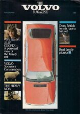 Volvo Magazine Spring/Summer 1985 UK Market Brochure 760 Turbo 245 DL 442C