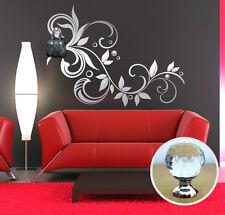 00454 Wall Sticker 3 Pomelli Swarovski Ramo delizia gioiello 115x86cm