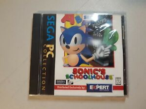 Sealed Sonic's Schoolhouse PC Collection Sega Authentic Sonic The Hedgehog