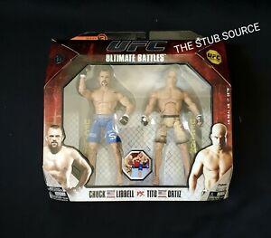 UFC Ultimate Battles Ser 3 Chuck Liddell Tito Ortiz Action Figure MMA Sealed Box