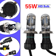 H4 55W 4300K HI/LO Beam Bi-Xenon HID Conversion Kit Light Bulbs Globes Headlight