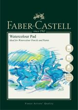 Faber-Castell Watercolour Painting Paper Pad Wire Bound A3