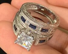 3256 ELEGANT ENGAGEMENT SIMULATED DIAMOND RING ENGAGEMENT stainless steel CLEA