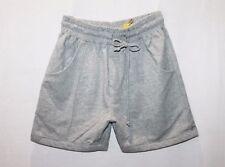 plasidapparel Designer Grey Front Pocket Sweat Trackie Shorts Size S BNWT #SL34