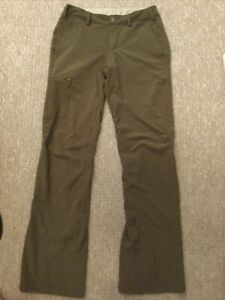 REI Women's Sahara Roll-Up Pants Size 0 Green Outdoor Hiking