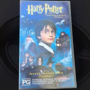 Harry Potter And The Philosopher's Stone (VHS,2002) VGC