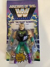 Jake The Snake WWE Masters Of The Universe Action Figure Unpunched