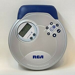 RCA ESP-Xtreme Portable Compact CD Player RP2502 TESTED Works Flawless