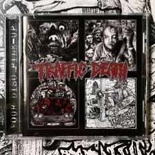 "Traffic Death ""Four Disc Pile-Up"" CD Black Market Fetus Dark Mirror Thrash Metal"