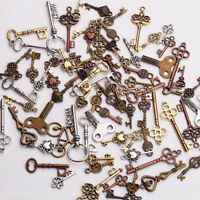 15PCS Preincess Stereoscopic Crown Charms Beads for Jewelry Making Pendants