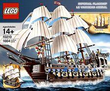LEGO PIRATES CARIBBEAN 10210 IMPERIAL FLAGSHIP 100% w/ BOX & MINIFIGS FREE SHIP!
