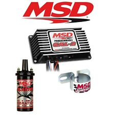 MSD 99533 Ignition Kit Black 6AL-2 Programmable Box/Blaster 2 Coil/Coil Bracket