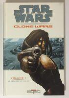 BD Comics Delcourt STAR WARS CLONE WARS La Défense de Kamino Volume 1
