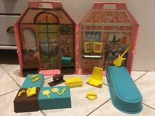 Rare Ancienne Maison Transportable barbie Mattel N•2914 Playhouse Pavillon 1978
