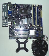 Mainboard Foxconn G41M Sockel 775 Quad-Core DDR2-RAM Kühler+Blende TOP!