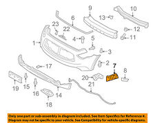 Front Bumper Grille Grill-Outer Reinforcement Left 620591CA0A