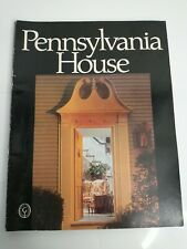 Vintage 1971 Pennsylvania House Furniture Catalog Collector Traditional American