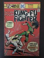Kung Fu Fighter #5 first printing original DC comic book