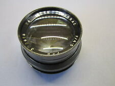 "DALLMEYER SERRAC 4.5/200MM 8""! WOW FAST BRASS WOOD CAMERA LENS SOFT FOCUS"