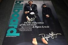 Macklemore & Ryan Lewis Signed Autographed 11x14 Photo Rapper COA Thrift Shop