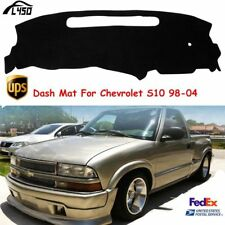 US Car Dash Mat For 1998-2004 Chevrolet S10 Dashboard Dash Cover Pad Fly5D Black