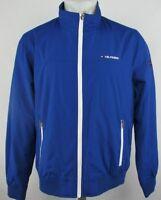 Tommy Hilfiger Men's Full Zip Windbreaker Bomber Jacket Blue S M L