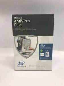 McAfee AntiVirus Plus 1-Year - MAV16ZLP9RAA