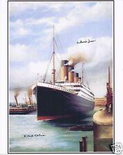 MILLVINA DEAN SIGNED RMS TITANIC 8x10 PHOTO 15 - UACC & AFTAL RD AUTOGRAPH