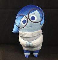 "Disney Pixar Inside Out Sadness Plush 12"" Stuffed Toy Doll Blue Sad Emotion"