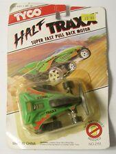 VINTAGE 1992 TYCO DIECAST Half TRAXX Super Fast Pull Back Motor in original box