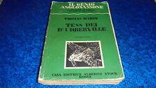 THOMAS HARDY:TESS DEI D'URBERVILLE VOL.I.GENIO ANGLOSASSONE STOCK N.3.1930
